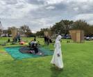 The community building the Braak Pavilion