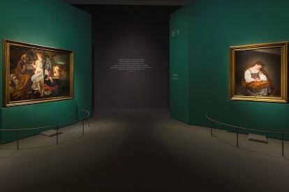 Dentro Caravaggio Palazzo Reale