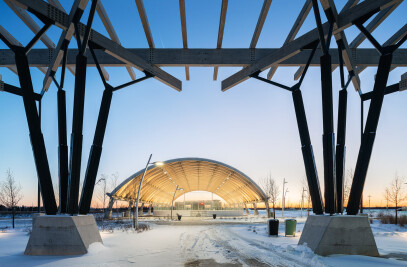 Gore Meadows Community Ice Rink & Events Pavilion
