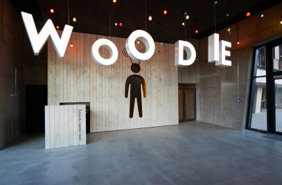 Woodie Hamburg. Lobbylounge. Primus Developments