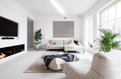 A Bright, Sea-View Apartment in Noblessner