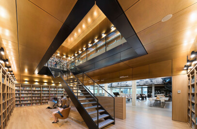 Library renovation, Erasmus University Rotterdam