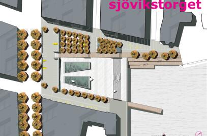 Sjövik Square,