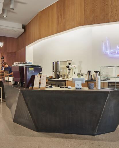 Purple Llama Coffee & Record Shop