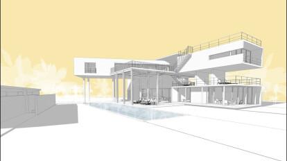 La Caracola Casa de Playa BIM model