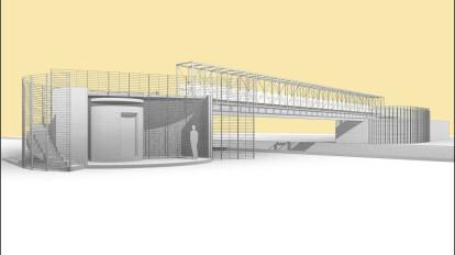 Pedestrian Bridge BIM Model