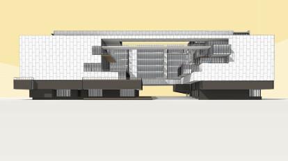 Guadalajara Library BIM Model