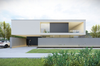 PREFAB BETONWONING - Moderne villa