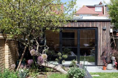 Charred Garden House