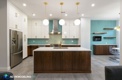Contemporary Dual Tone Kitchen