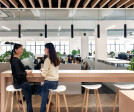 Space Matrix Shanghai office -  Innovative office design with workplace technology