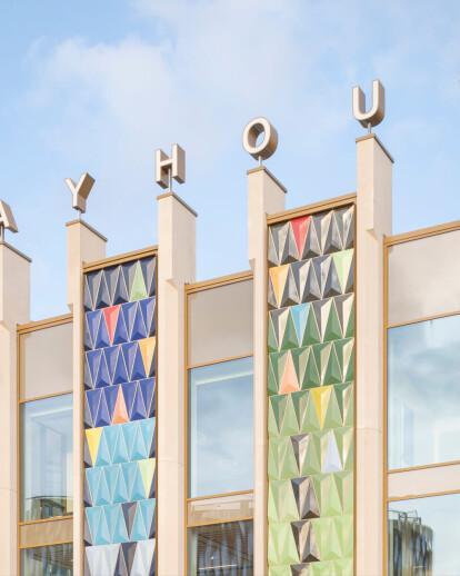 Leeds Playhouse develops a strong narrative and urban presence with a creative ceramic façade