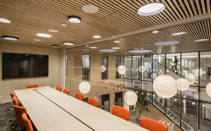 Linear Module Ceiling Installation