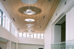 Linear Plank Ceiling Installation