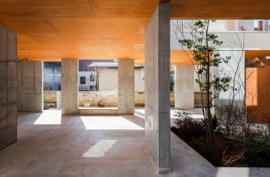 Acquired stilt house