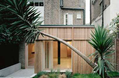Leaning Yucca House