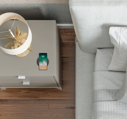 Wiremold Wireless Charging Puck