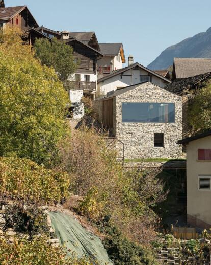 Savioz Fabrizzi Architectes converts rural French barn into modern home