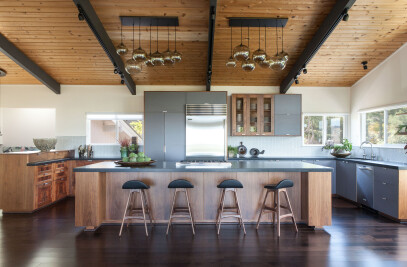 Modern Zen Kitchen