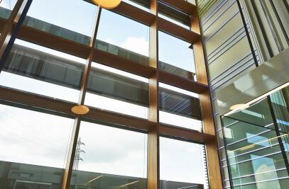 Sede de Enovos (Luxemburgo) - Muro cortina