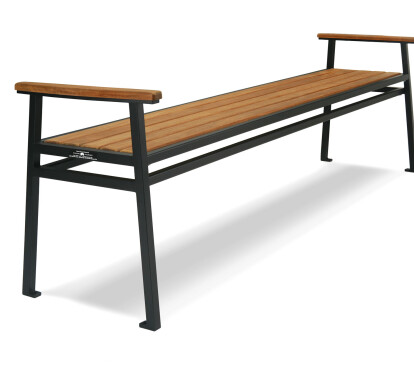 Stell Backless Bench