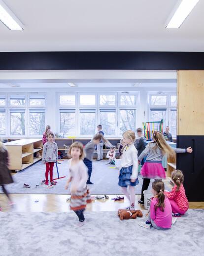 """Interior of an Kindergarten no 42 """"Kwiaty Polskie"""""""