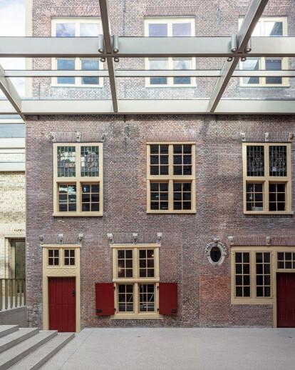 Happel Cornelisse Verhoeven completes competition winning expansion and restoration to Leiden's Museum De Lakenhal