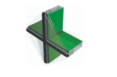 Tubelite 400 4-Side SSG Cassette Series Curtainwall