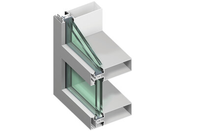 Tubelite ForceFront Storm® Curtainwall