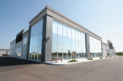 CoolVu Transitional Window Film - Commercial Applications