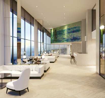 CoolVu Transitional Window Film - Hospitality