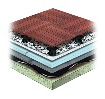 Wood Tile Assembly
