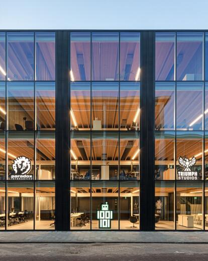 Building D(emountable) is a showcase for circular construction