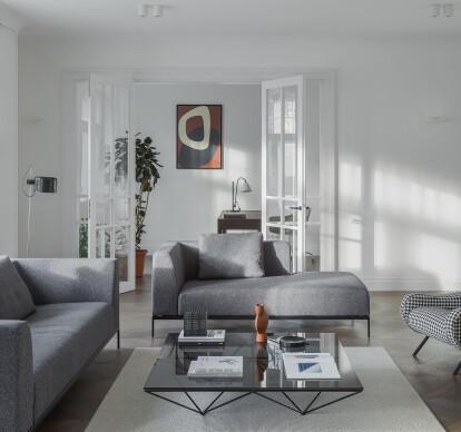 Interior design for an apartment in Riga