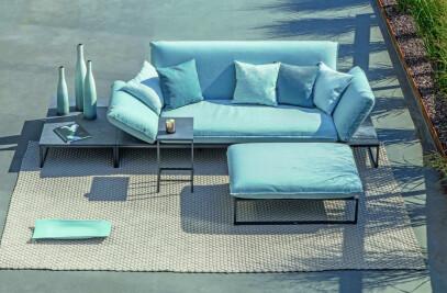 Flora Lounge Upholstered bench