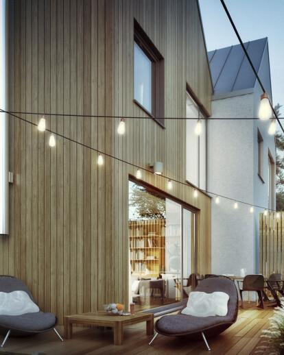 Intimate estate in Łomianki, PL