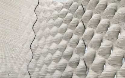 3 D printed concrete modular by Baumit BauMinator