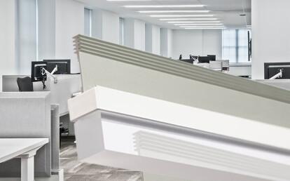 T-BAR LED™ Block Clear Diffusing Lens