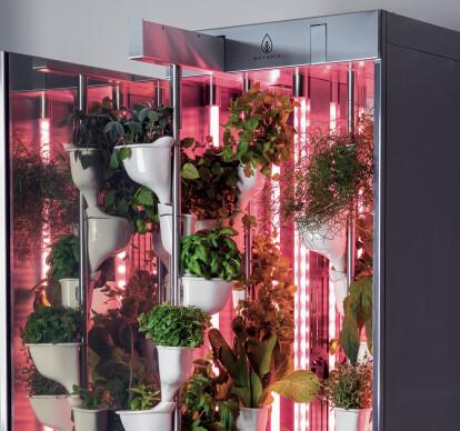 Natufia hydroponic unit