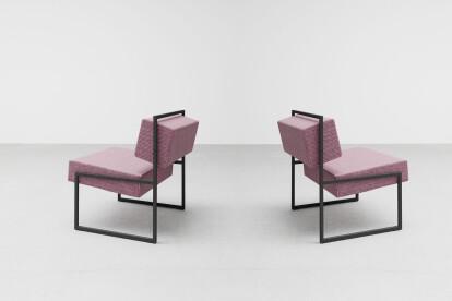 Angle Lounge Chair