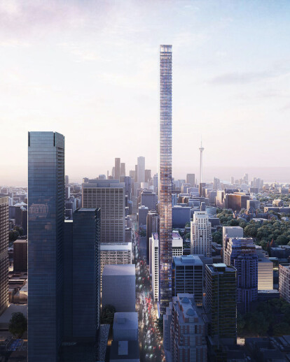 Mixed-use tower in Toronto