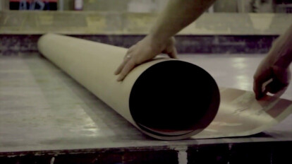 Process of creating Graphic concrete