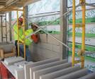 Arriscraft ARRIS-clip sample installation