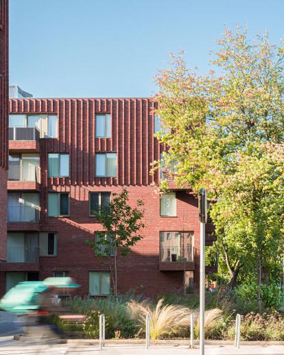 Hulme Living Leaf Street Housing