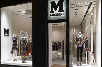 M MISSONI Milan boutique