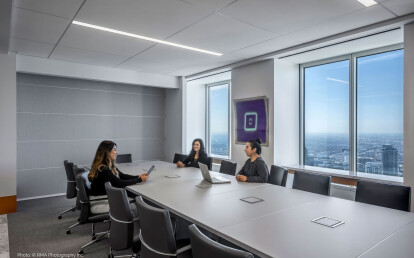 Zenith® sub-dividing a conference room