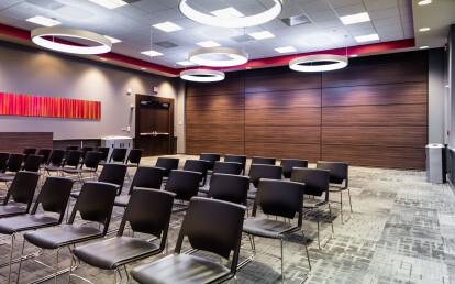 Zenith® sub-dividing student union room
