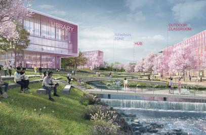 Xinyang University South Bay Campus Master Plan