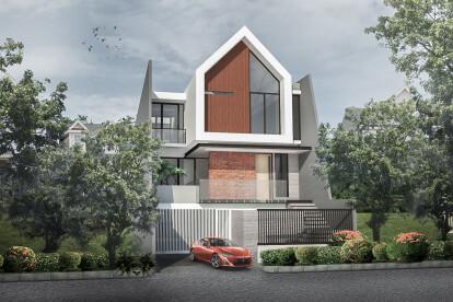 3D Exterior facade