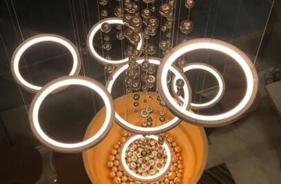 AROMA, Light Installation